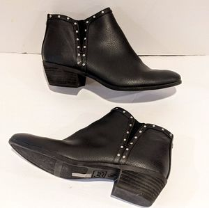 Circus by Sam Edelman black studded booties 7.5